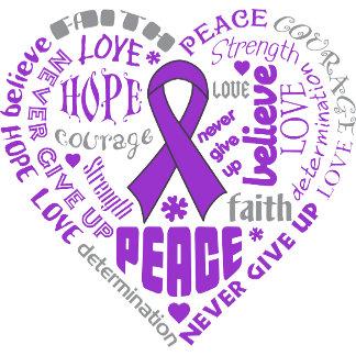 Epilepsy Awareness Heart Words