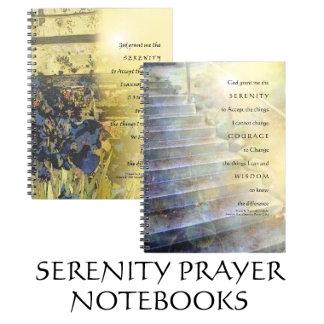 Serenity Prayer Notebooks