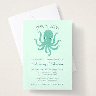 Smiling Octopus - Green