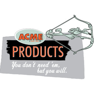 Wile E Coyote Acme Products 9