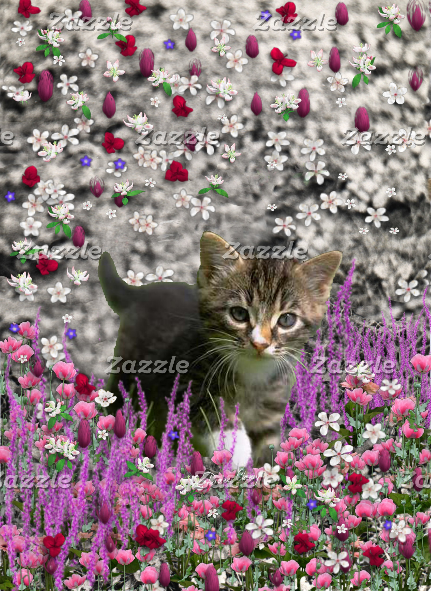 Emma in Flowers I