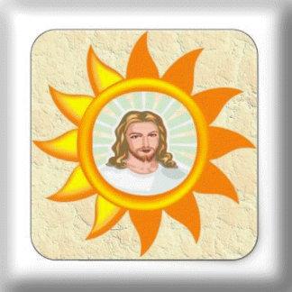 JESUS SHINING BRIGHT SUN