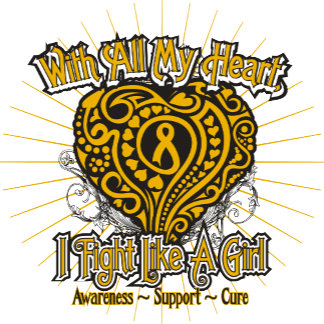 Appendix Cancer Heart I Fight Like A Girl