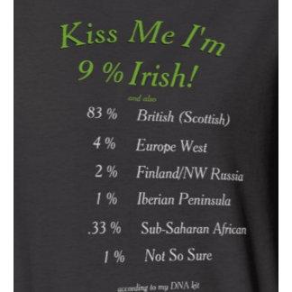 DNA Kit - Kiss Me I'm Irish