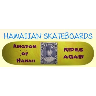 HAWAIIAN STYLE SKATEBOARDS