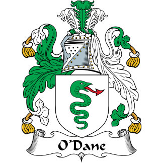 O'Dane Coat of Arms