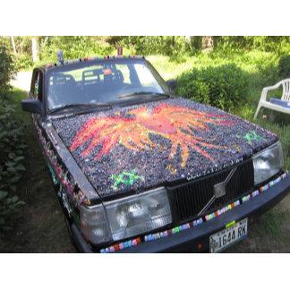 Autism Awareness Car - The Dazzling Razzberry