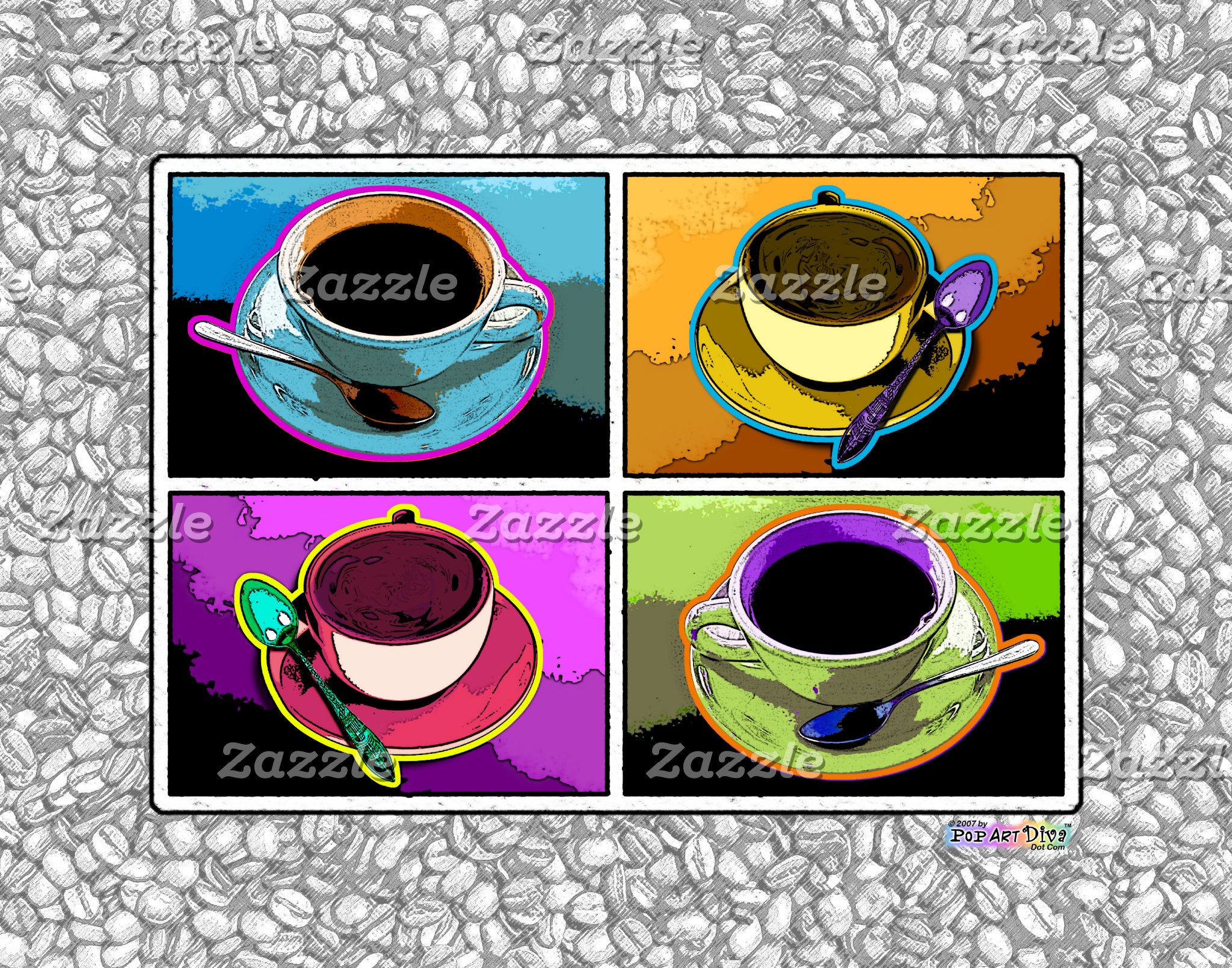 za. COFFEE POP ART