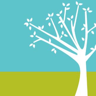 """Budding Tree Poster Print"""