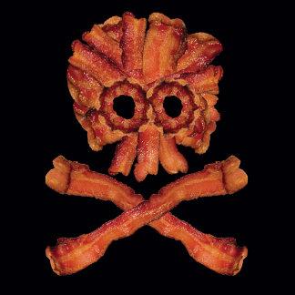 Bacon Skull and Crossbones