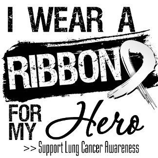 * I Wear Lung Cancer Ribbon