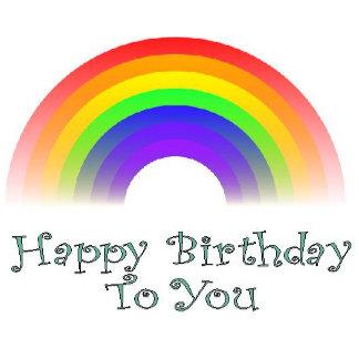 Happy Birthday to You Rainbow