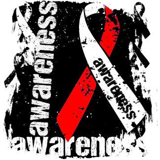 MDS Awareness Grunge Ribbon