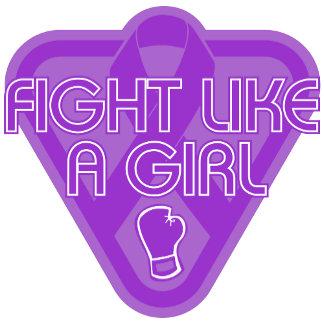 Epilepsy Fight Like A Girl Glove