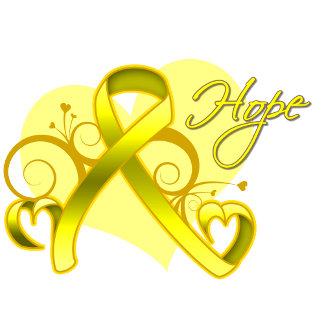 Floral Heart Ribbon - Suicide Prevention