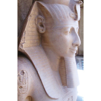 Colossal statue of Ramesses II at Memphis, Egypt