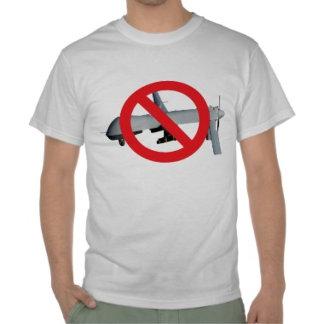 No Drones shirts.