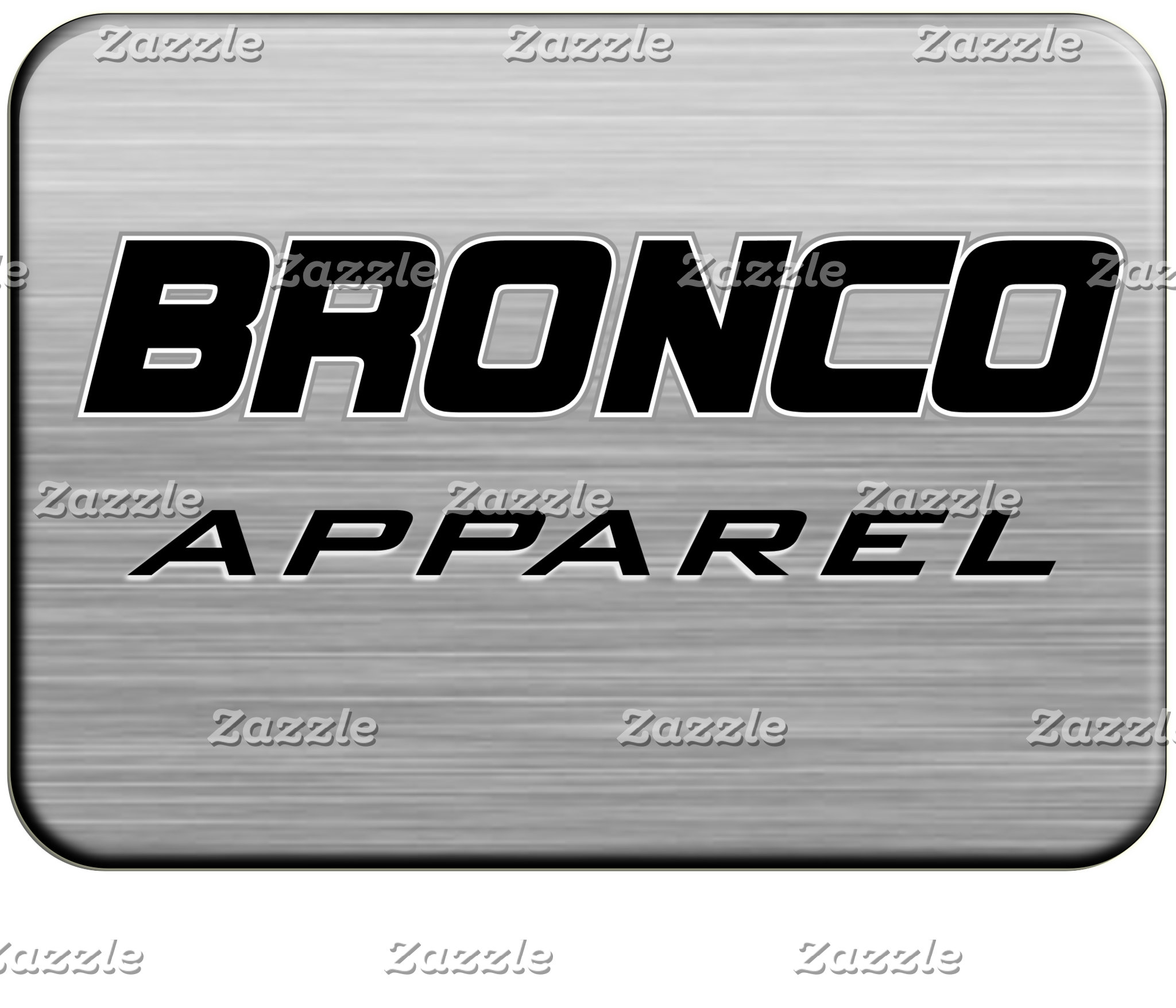 Ford Bronco Apparel
