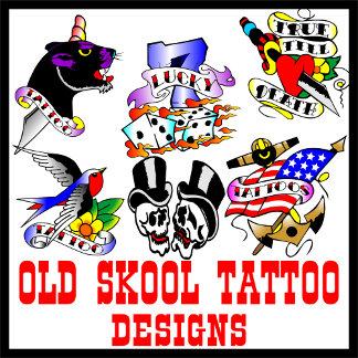 Tattoos Old Skool Tattoo Designs
