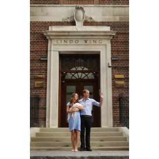 Duke & Duchess Of Cambridge at Lindo Wing 2