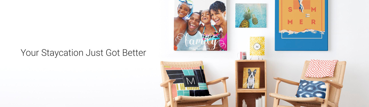 Your Staycation Just Got Better - Decorate your home with customizable items from Zazzle's Home and Pets department