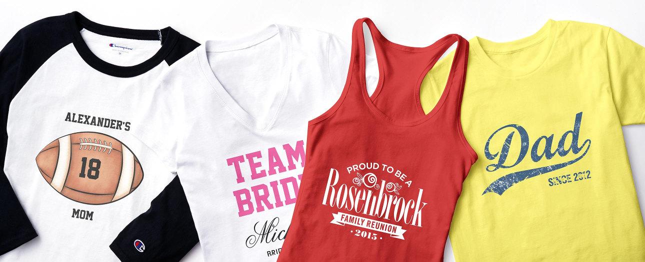 Custom T Shirt Designs & Design Templates