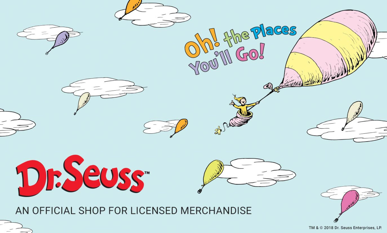 Shop Dr. Seuss officially licensed shop.