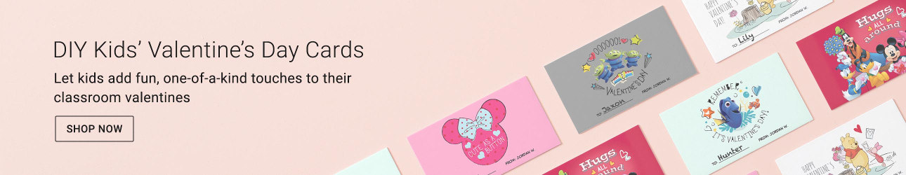 DIY Kids' Valentine's Day Cards - Let kids add fun, one-of-a-kind touches to their classroom valentines
