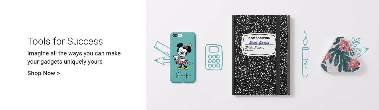 Tools for Success - Imagine all the ways you can make your gadgets uniquely yours. Shop iPhone and iPad cases now!