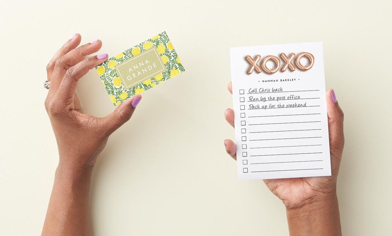 50% Off Post-it® Notes & Business Cards