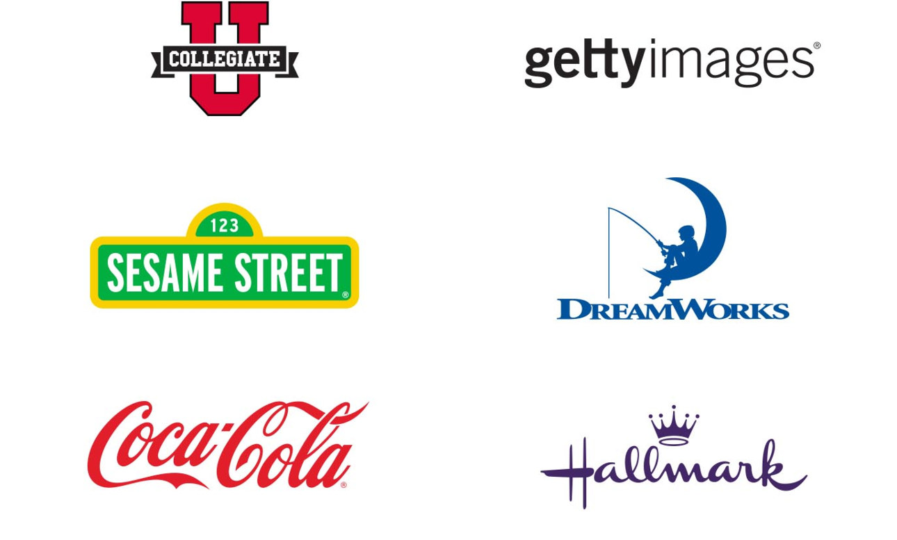 Shop our officially licensed brand partner stores to find thousands of familiar designs!