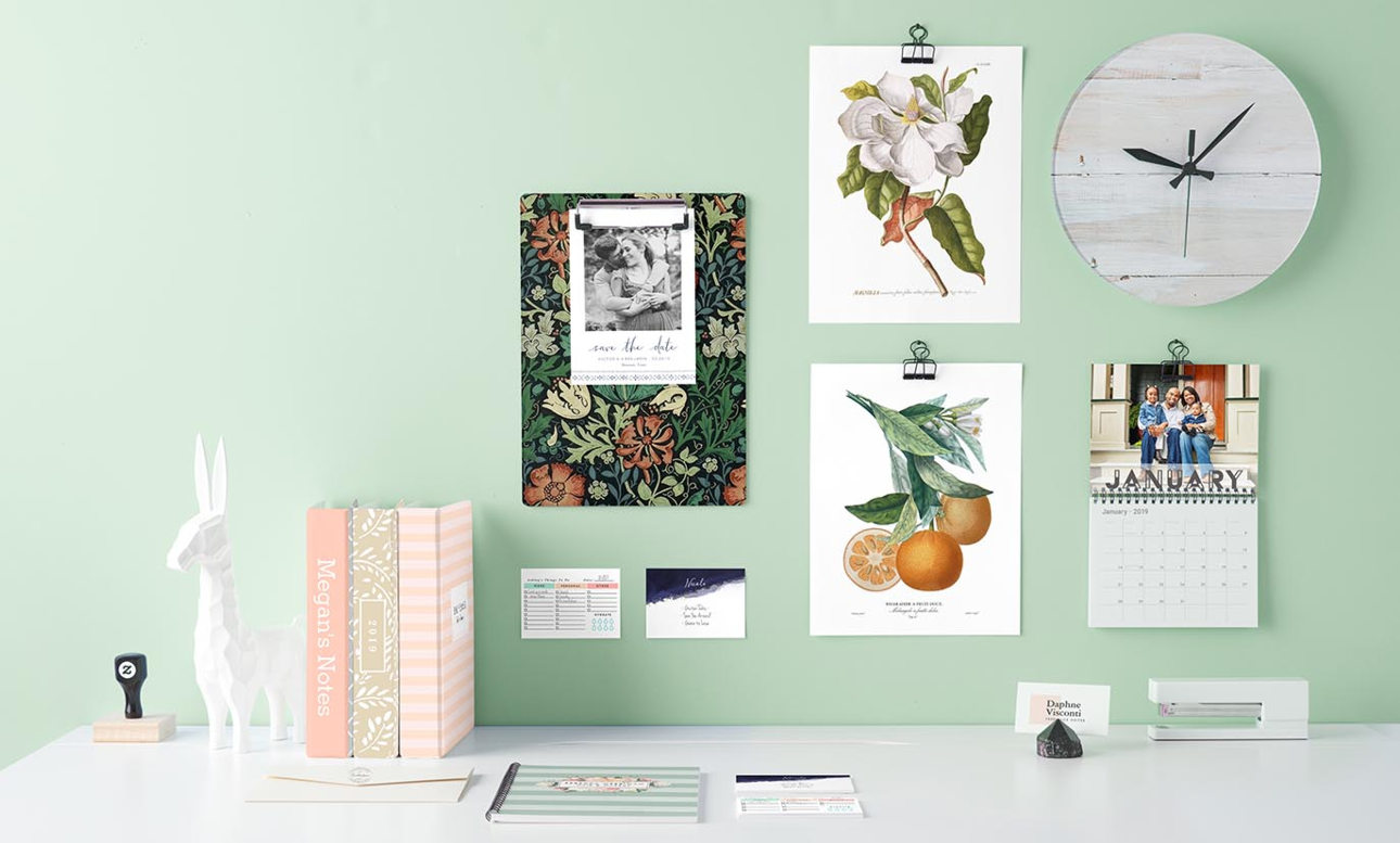 Zazzle Personalized Gifts Custom Products Dcor Circuit Board Spiral Notebook Desk Essentials Wide