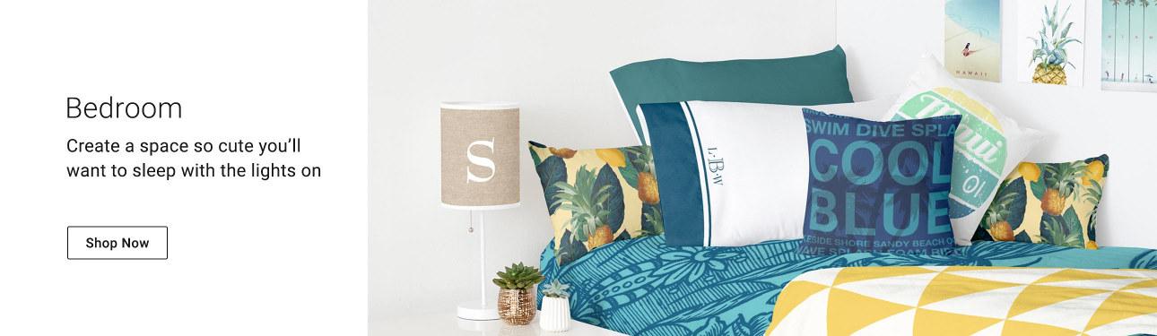 Shop our wonderful blankets, pillows, poufs, & duvets!