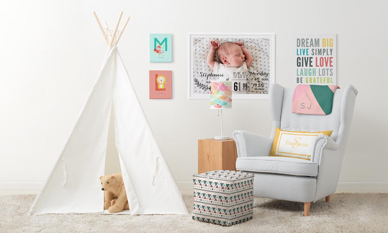 Oh, Baby! Surround the new baby with items tailor made just for them!