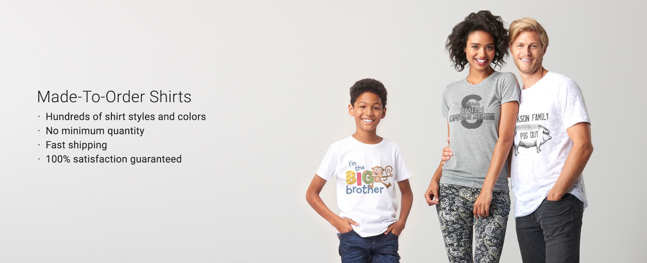 Custom T-Shirts - Design Your Own Tees   Zazzle