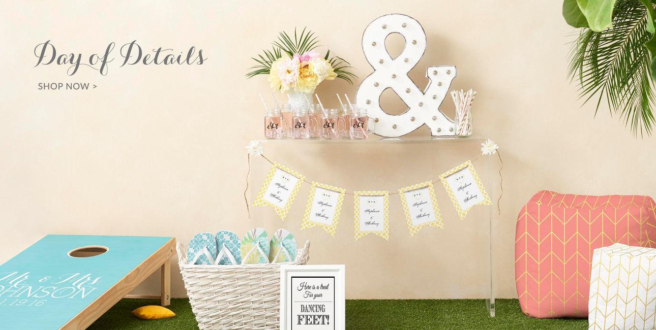 Date of Details - Shop Wedding Décor