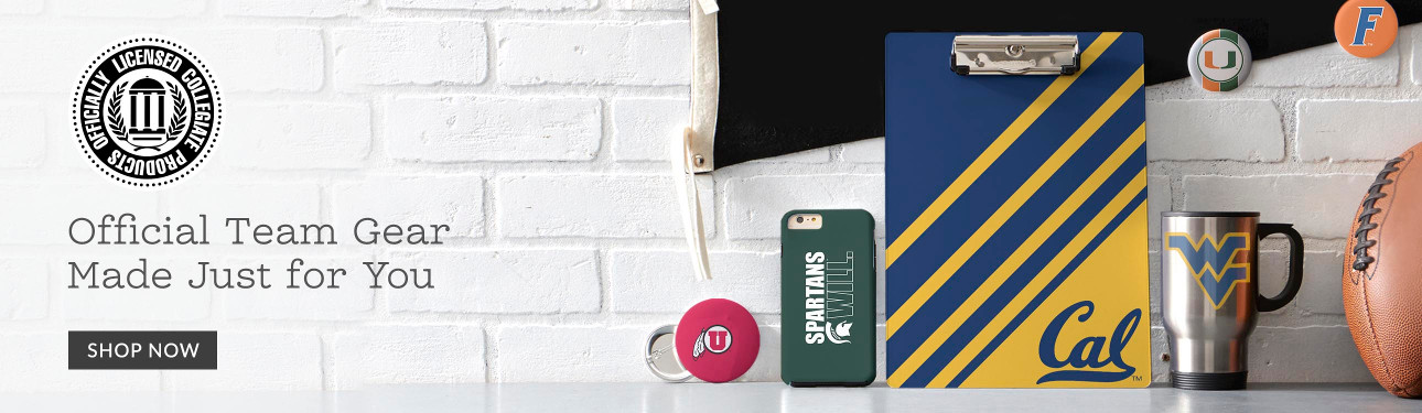 Officially Licensed Collegiate Products - Official Team Gear Made Just for You