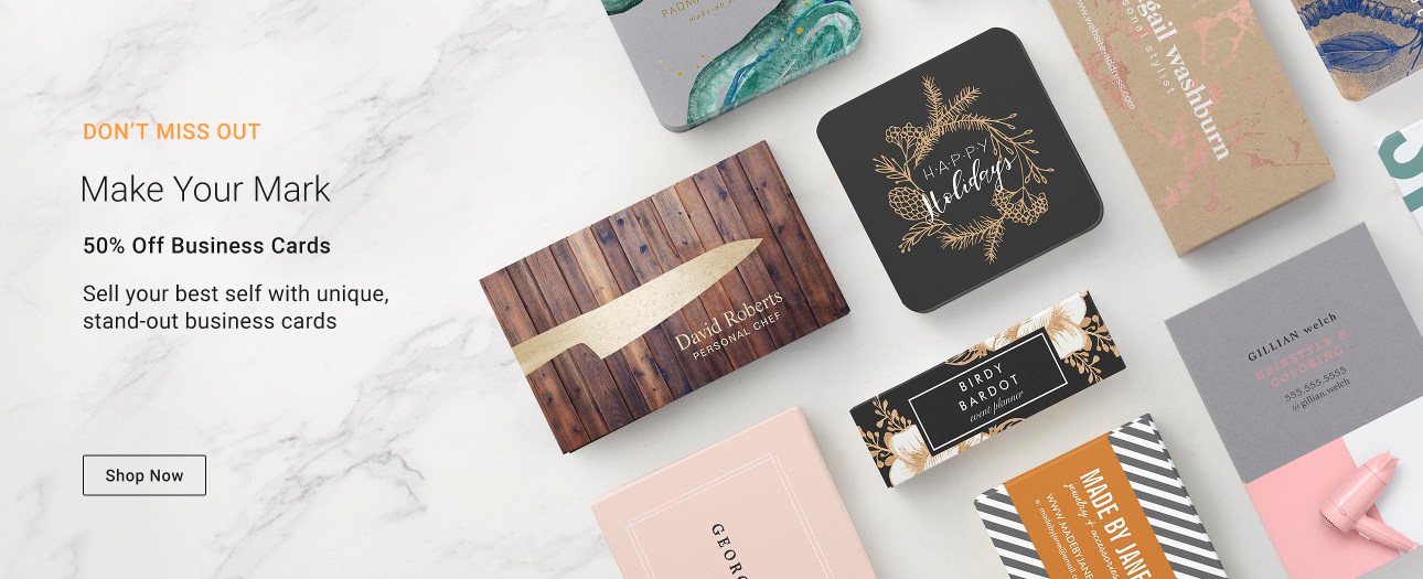 Make Your Mark - Sell your best self with unique, stand-out business cards