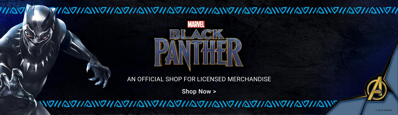 Black Panther - An official shop for licensed merchandise!