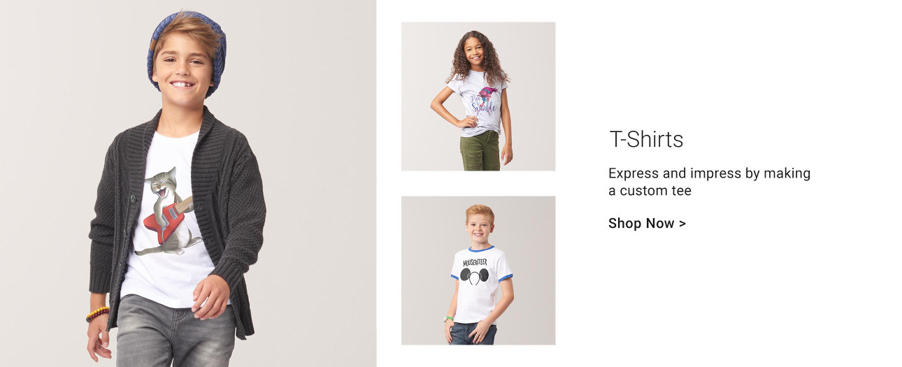 T-Shirts - Express and impress by making a custom tee