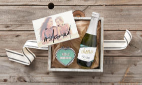 Don't forget to say thanks to everyone who helped make your day extra special with custom wedding favors and gifts!