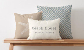 Decorate your home with customizable home accents!