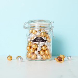 Father's Day Gift Idea - Dad's Stache Candy Jar