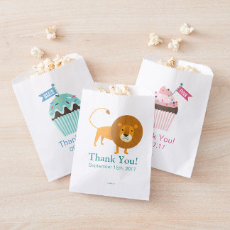 Favor Bags - Hallmark | Cupcakes Baby Shower Favor Bag