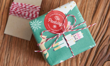 Holiday Gift Wrap – Wrapping Paper & Stickers