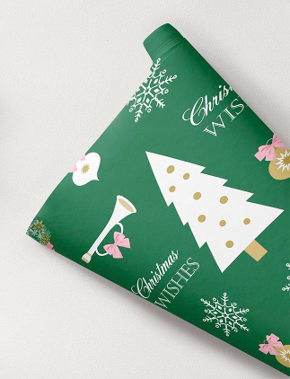 Gift Wrapping Paper for Christmas