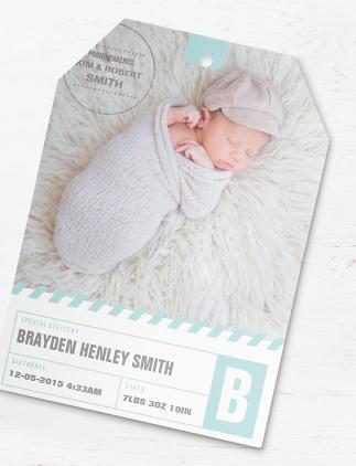 Trendy Baby Announcements