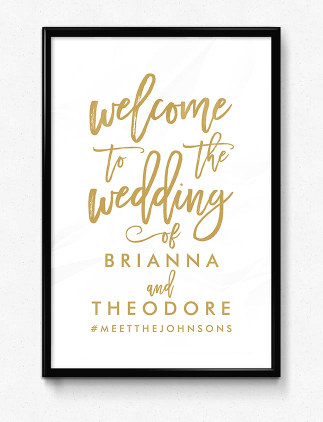 Wedding Posters and Art