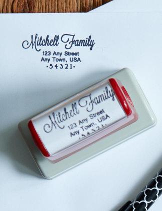 Custom Return Address Self Inking Stamps