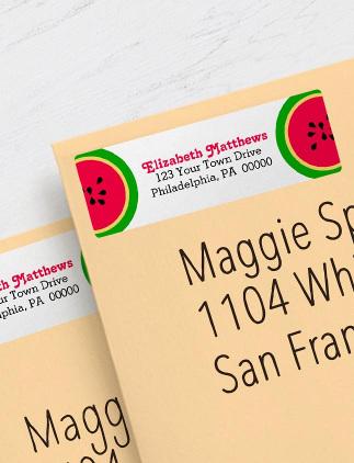 Summer Address Labels